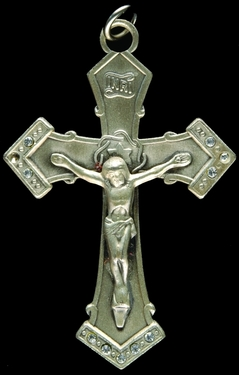 Photo of STERLING SILVER CRUCIFIX 1204