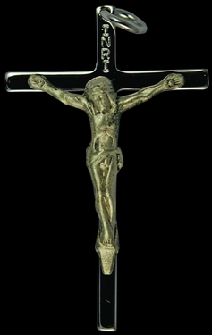 Photo of STERLING SILVER CRUCIFIX 1216