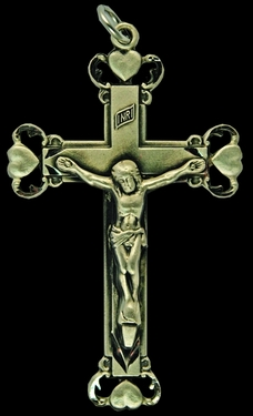 Photo of STERLING SILVER CRUCIFIX 1234