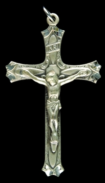 Photo of STERLING SILVER CRUCIFIX 1235
