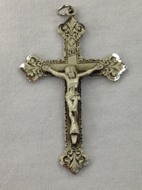 Photo of STERLING SILVER CRUCIFIX 1240