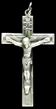 Photo of STERLING SILVER CRUCIFIX 1243