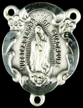 Photo of STERLING SILVER OUR LADY OF GUADALUPE CENTER 1309