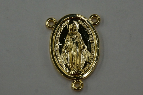 Photo of GOLD PLATED MIRACULOUS CENTER 1424
