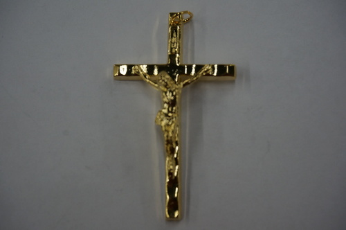 Photo of GOLD PLATED CRUCIFIX 1450