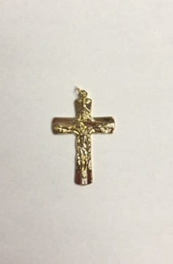 Photo of GOLD PLATED TRINITY CRUCIFIX 1474
