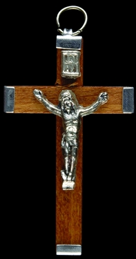 Photo of BROWN WOOD CRUCIFIX 550BR