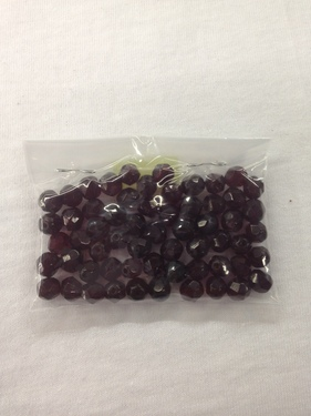 Photo of GARNET 7MM FIRE POLISHED FACETED BEADS 626GA
