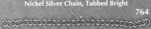 Photo of NICKEL SILVER CABLE CHAIN 764