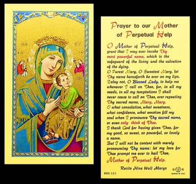 Photo of MOTHER OF PERPETUAL HELP 800-121