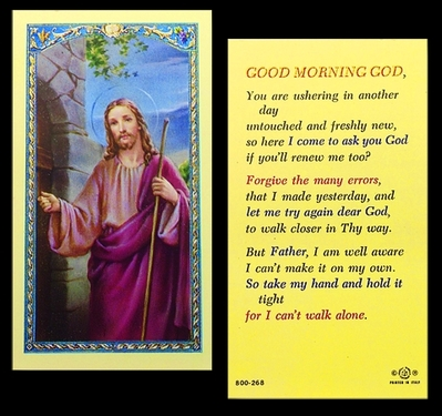 Photo of GOOD MORNING GOD 800-268