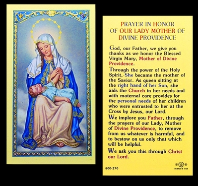 Photo of OUR LADY MOTHER OF DIVINE PROVIDENCE 800-270