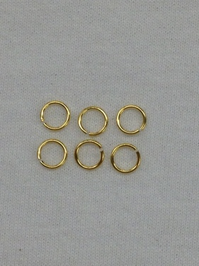 Photo of 7MM BRASS JUMPRINGS - DOZEN 854B-DZ