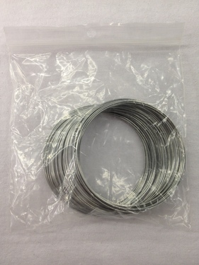 Photo of NICKEL SILVER BRACLET WIRE - OUNCE 867-O