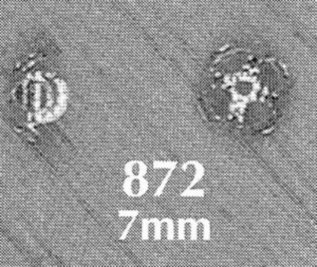 Photo of 7MM SILVER PLATED CAPS<br />Set = 12 872