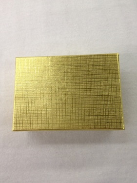 Photo of GOLD COTTON FILLED BOX 914