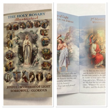 Photo of HOLY ROSARY BOOK, INCLUDING THE MYSTERIES HR-01