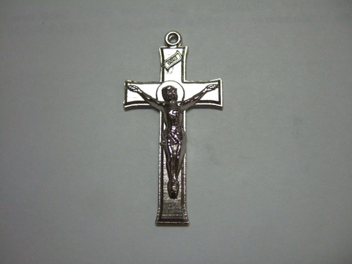 Photo of NICKEL PLATED MISSION CRUCIFIX M16